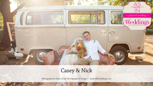 Placerville Wedding Inspiration: Casey & Nick {From the Summer/Fall 2016 Issue of Real Weddings Magazine}