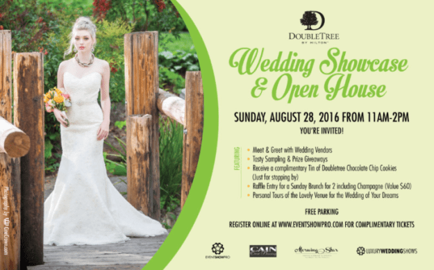 Save-the-Date: DoubleTree by Hilton Wedding Showcase & Open House
