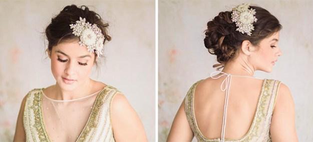 Pink Beauty Bridal – Ivory Floral Haircomb