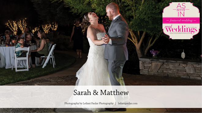 Elk Grove Wedding Inspiration: Sarah & Matthew {From the Winter/Spring 2017 Issue of Real Weddings Magazine}