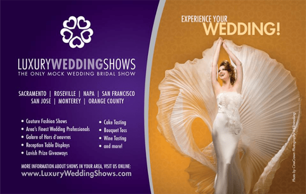 Luxury Wedding Shows | Northern California Wedding Event | Luxury Wedding | Lux Wedding | Sacramento Weddings | Bay Area Weddings