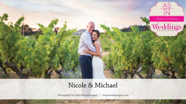 Plymouth Wedding Inspiration: Nicole & Michael {From the Winter/Spring 2017 Issue of Real Weddings Magazine}