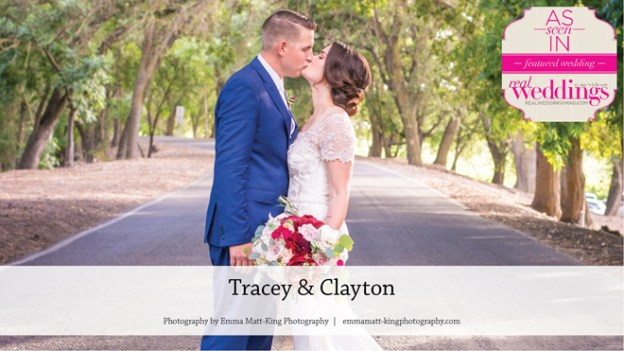 Sacramento Wedding Inspiration: Tracey & Clayton {From the Winter/Spring 2017 Issue of Real Weddings Magazine}