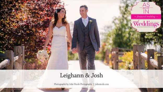 Lodi Wedding Inspiration: Leighann & Josh {From the Winter/Spring 2017 Issue of Real Weddings Magazine}