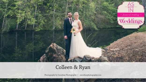 Placerville Wedding Inspiration: Colleen & Ryan {From the Winter/Spring 2017 Issue of Real Weddings Magazine}