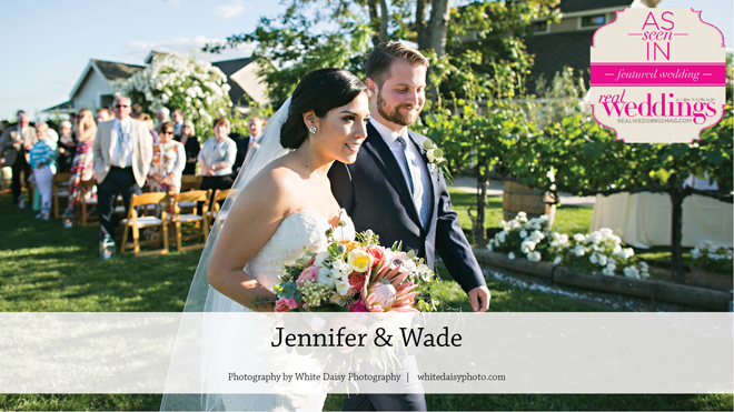 Sacramento Wedding Inspiration: Jennifer & Wade {From the Winter/Spring 2017 Issue of Real Weddings Magazine}