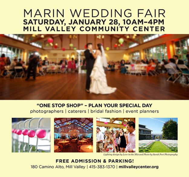 Mill Valley Wedding Event: Get a FREE Copy of Real Weddings at the Marin Wedding Fair