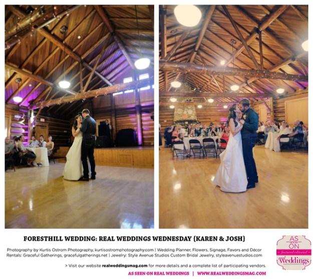 Reception Ceremony Burial: Foresthill Wedding: Real Weddings Wednesday {Karen & Josh
