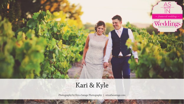 Sonoma County Wedding: Kari & Kyle {From the Summer/Fall 2017 Issue of Real Weddings Magazine}