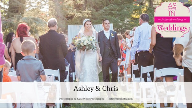 Winters Wedding: Ashley & Chris {From the Summer/Fall 2017 Issue of Real Weddings Magazine}