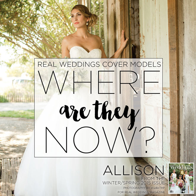 Cover Models | #tbt | Where are they now | Park Winters Wedding | studioTHP Wedding | Winters Wedding | Wedding Magazine cover model | Real Weddings Cover Model Contest