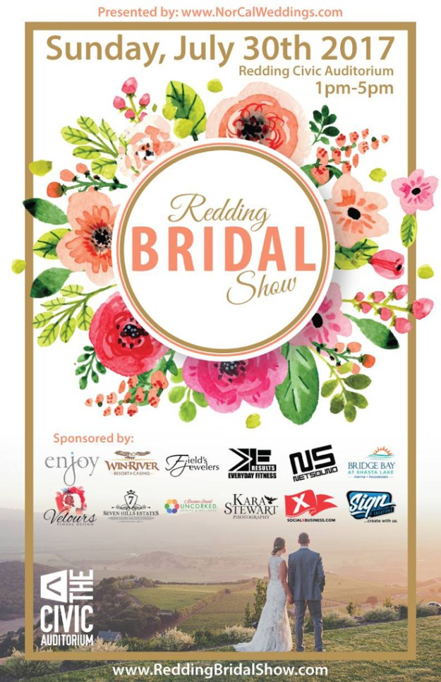 Redding Bridal Show | Nor Cal Weddings | Nor Cal Wedding Event | Redding Wedding Vendors