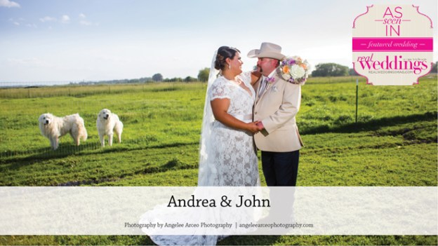 Isleton Wedding: Andrea & John {From the Winter/Spring 2018 Issue of Real Weddings Magazine}