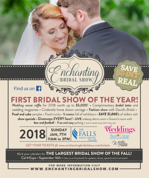 Sacramento Bridal Show, Northern California Wedding Show, Tahoe Wedding Faire, Bridal Open House, Wedding Open House