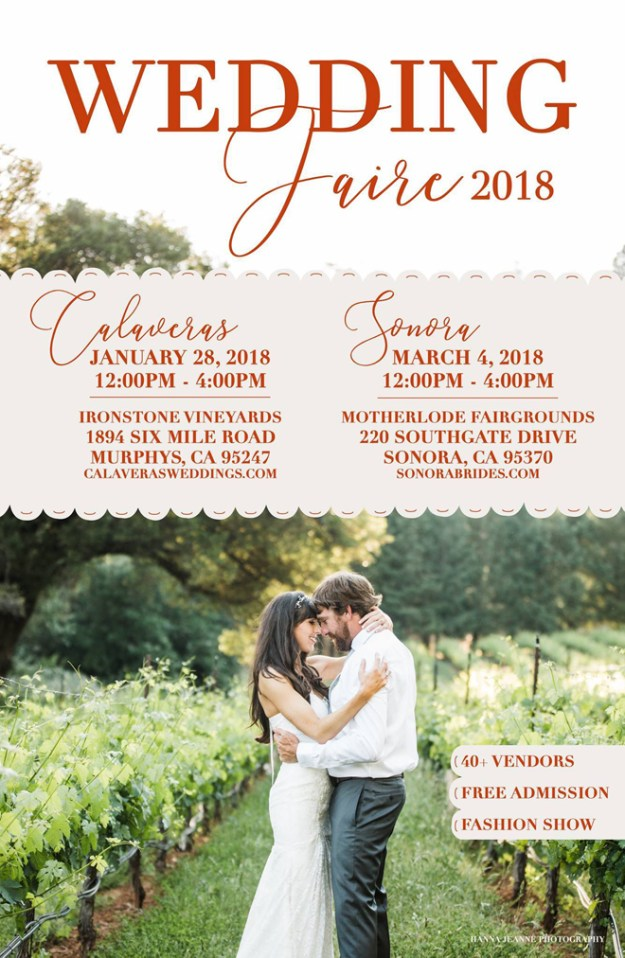 Calaveras Wedding Faire | Sonora Wedding Faire | Calaveras Weddings | Sonora Weddings
