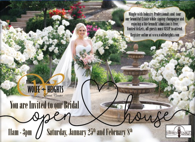 Wolfe Heights Sacramento Wedding Venue | Sacramento Bridal Open House