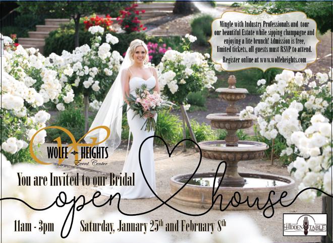Wolfe Heights Sacramento Wedding Venue | Sacramento Bridal Open House
