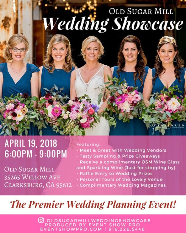 Sacramento Wedding Show | Sacramento Bridal Show | Northern California Wedding Showcase | Bridal Showcase