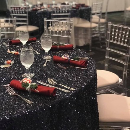 Aba Daba Rentals - Sequin-Table Cloth-Rentals-Sacramento-Real Weddings Magazine