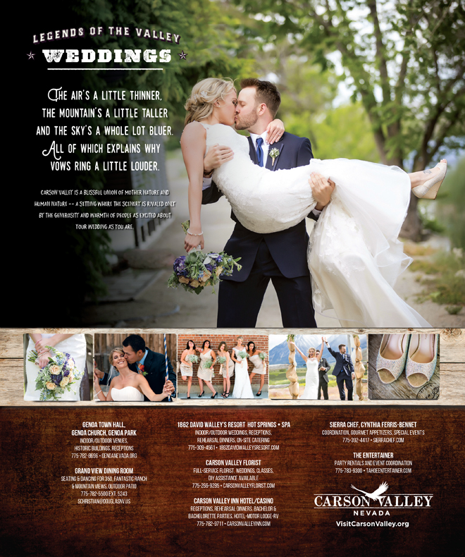 Carson Valley Nevada | Nevada Weddings | Carson Valley Weddings | Visit Nevada