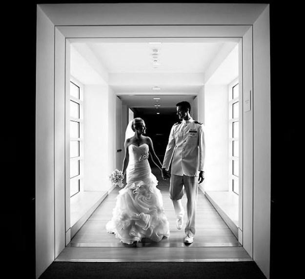 Karmen's wedding photo, shot by Stout Studios.