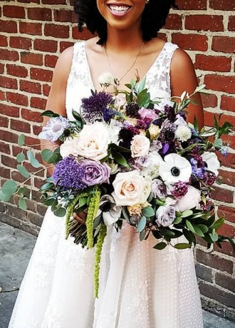Real Weddings Magazine Special Offer Discount Accents by Sage Floral Design Bridal Bouquet Flowers | Best Sacramento Tahoe Northern California Vendors