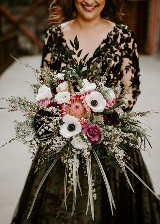 Real Weddings Magazine Special Offer Discount Morningside Florist Bridal Bouquet Flowers Rancho Cordova | Best Sacramento Tahoe Northern California Vendors