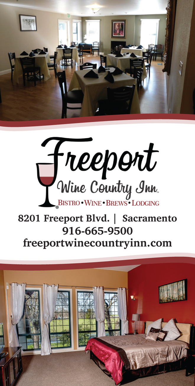 Sacramento Clarksburg Freeport Wedding Accommodations   Rehearsal Dinner Venue