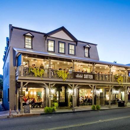 Hotel Sutter - Sacramento Wedding Venue Accommodations Rehearsal Dinner-Sutter Creek-Real Weddings Magazine