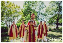 Sangi & Rohit's wedding was photographed by Dee & Kris Photography and featured Bella Bloom and Celebrations! Party Rentals & Tents.
