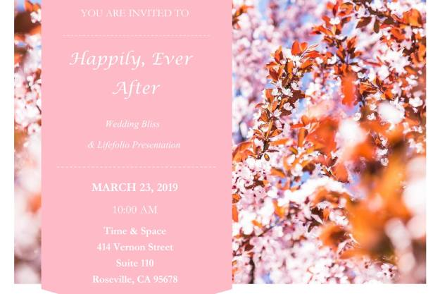 Happily Ever After Wedding Bliss - Roseville - March 2019