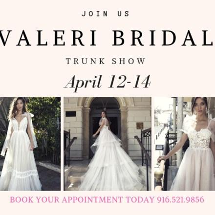 Valeri Bridal Trunk Show   Diamond Bridal Gallery   Sacramento Wedding Gowns