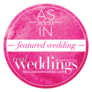 Sacramento Tahoe Featured Wedding | Real Weddings Magazine Featured Wedding