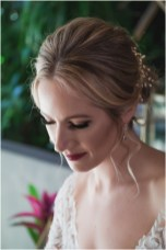 Gown from The Bridal Box; Headpiece by Hair Comes the Bride; Earrings by Luxurious Bridal; Bouquet by Carson Valley Florist; Hair and makeup by All Dolled Up Hair and Makeup Artistry; Photo by 2 Girls 20 Cameras, on location at Kimpton Sawyer Hotel