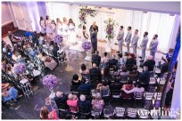 Downtown Sacramento Wedding | Purple Glam Wedding