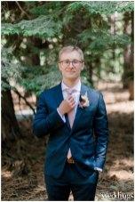 Heather & Joe | Intimate Tahoe Wedding | Airbnb Wedding |Pink & Gold Wedding | Kathryn White Photography