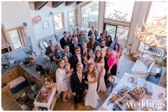 Intimate Tahoe Wedding | Airbnb Wedding |Pink & Gold Wedding | Kathryn White Photography