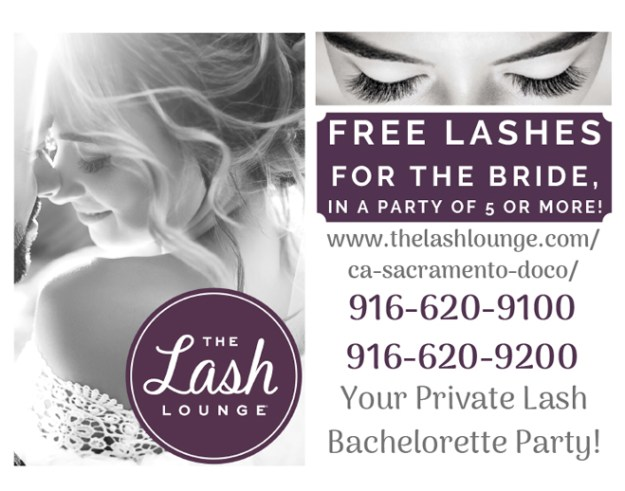 Sacramento Wedding Lash Extensions | Roseville Wedding Lash Extensions | Bachelorette Parties