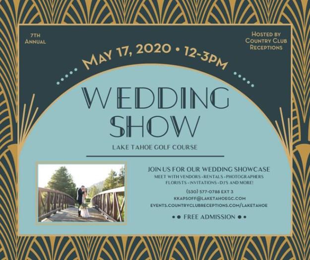 Lake Tahoe Golf Course Wedding Show | South Lake Tahoe Bridal Show