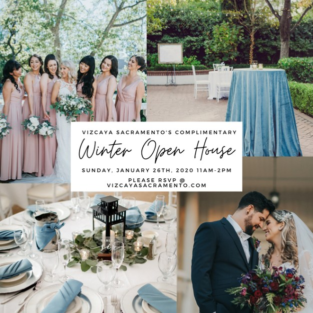 Sacramento Wedding Venue Bridal Open House