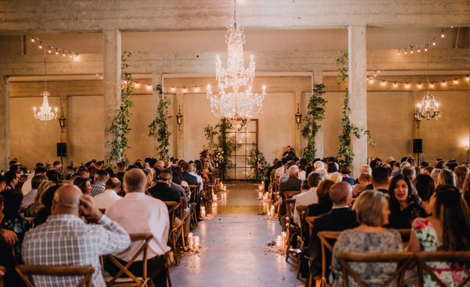 Hood Wedding Venue - Willow Ballroom Event Center - Industrial Chic Sacramento Wedding Venue