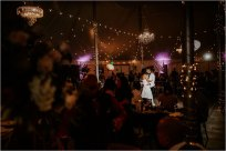 Kristy & Vince's trendy Bay Area winery wedding featured in Real Weddings Magazine