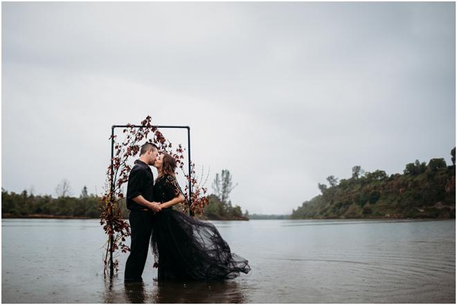 Moody Styled Shoot Elopement-Sacramento Tahoe Wedding Photography