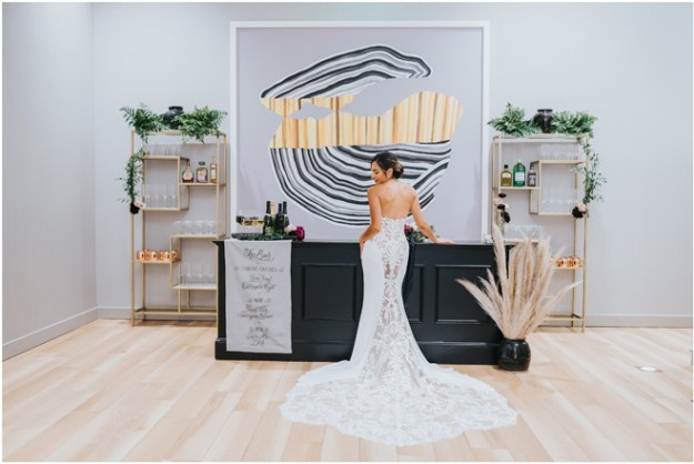 Sacramento Wedding Contemporary Styled Shoot Inspiration