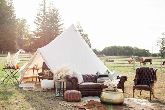 Sacramento Women Supporting Women | Wedding Inspiration | Elegant Rustic Lone Oak Longhorns Styled Shoot Luxury Wedding Planning