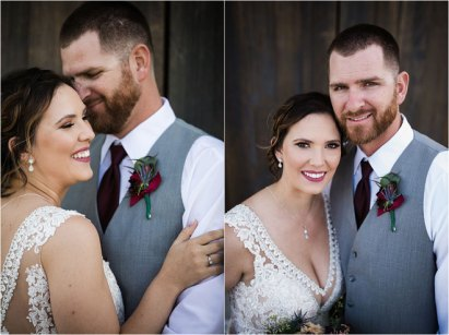 Blue and Burgundy Rustic Modern Ranch Wedding at Lone Oak Longhorns with 5 Star Wedding Films and Photography