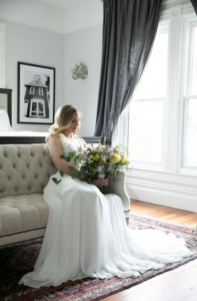Honey Bee Good Wedding Photo Shoot at Park Victorian Auburn by Hawk Meadow Studio