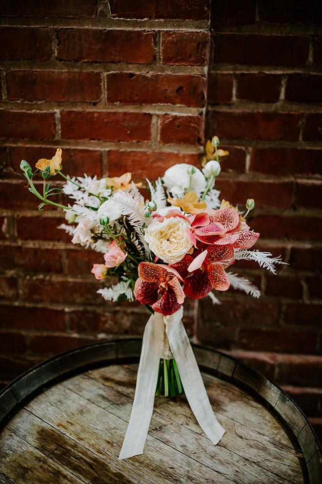 Bella Bloom Sacramento Florist Old Sugar Mill Modern Wedding James Young Photography