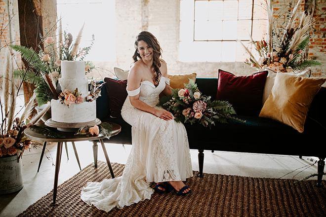 James Young Photography Moody Trendy Modern Old Sugar Mill Wedding Sacramento Real Bride Christina
