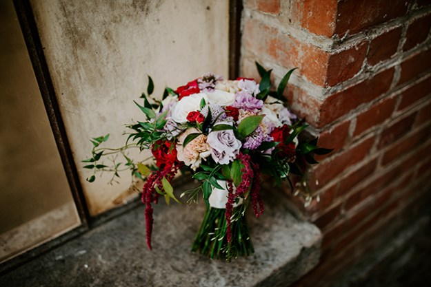 The Party Concierge Sacramento Florist Purple Red Wedding Old Sugar Mill James Young Photography
